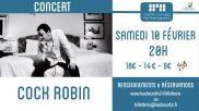 [Archives] – Concert de Cock Robin – 10 février 2018