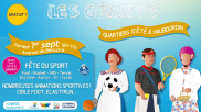 [Archives] – Fête du sport – 01 septembre 2018