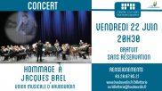 [Archives] – Hommage à Jacques Brel par l'Union Musicale d'Haubourdin – 22 juin 2018