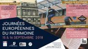 [Archives] – Journées du patrimoine – 15 & 16 septembre 2018