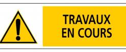 Travaux sur le pont Carnot