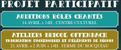 Projet participatif La Périchole : auditions et ateliers Bricol'Offenbach