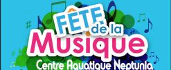 Fête de la musique au centre aquatique Neptunia