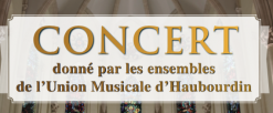 Concert des ensembles de l'Union Musicale d'Haubourdin