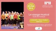 [Archives] – Voyage musical – 2 avril 2019