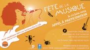 [Archives] – Fête de la musique – Appel à participation – jusqu'au 7 juin