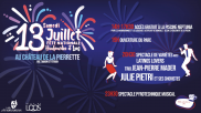 [Archives] – Fête Nationale – 13 juillet 2019
