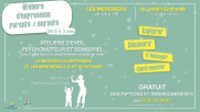 [Archives] – Ateliers d'expression parents / enfants – Septembre / octobre 2019