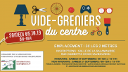 [Archives] – Vide-greniers du centre – 5 octobre 2019