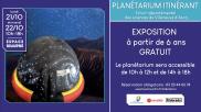 [Archives] – Planétarium itinérant – 21 & 22 octobre 2019
