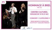 [Concert] – Hommage à Brel – 11 octobre 2020