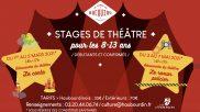 [Théâtre] – Stage de théâtre – Mars & Mai 2021
