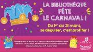 [Bibliothèque] – La bibliothèque fête le carnaval – du 1er au 31 mars