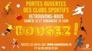 [Sport] – Journées portes ouvertes des clubs sportifs – 12 & 13 juin 2021