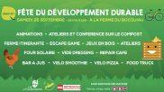[Développement Durable] –  Fête du développement durable – 25 septembre 2021