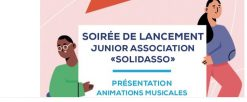 Solidasso : lancement de la Junior assocoation