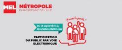 Plan Climat Air Energie Territorial de la MEL – Procédure de participation du public par voie électronique du 16 septembre au 19 octobre