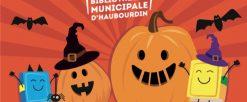 La Bibliothèque fête Halloween du 26 au 30 octobre 2021
