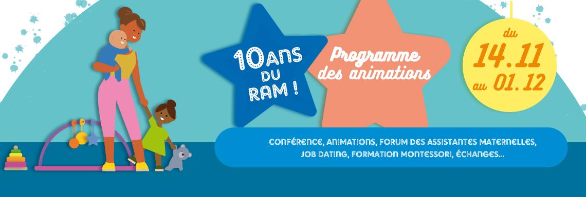 10 ans du Relais Assistantes Maternelles !