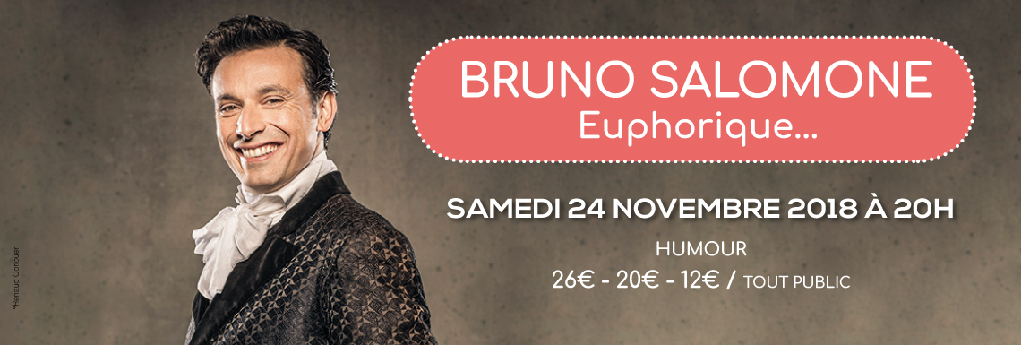 Bruno Salomone «Euphorique…»
