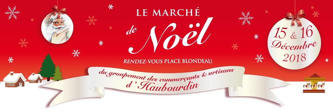 Marché de Noël du groupement des commerçants et artisans d'Haubourdin