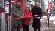 [Archives] – Inauguration du Garage à Vélo (2013)