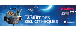 La nuit des bibliothèques 2017