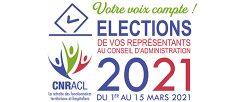 Election des représentants du Conseil d'Administration de la CNRACL (retraités de la fonction publique)