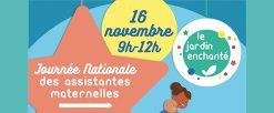 Journée nationale des assistantes maternelles – 16 novembre 2019