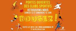 Portes ouvertes des clubs sportifs – 12 et 13 juin 2021