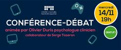 Conférence-débat «apprivoiser les écrans de 3 à 12 ans»