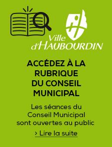 Accédez à la rubrique Conseil Municipal