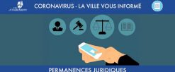 Permanences juridiques : contacts pendant le confinement
