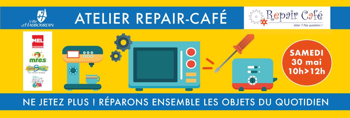 Atelier Repair Café – 30 mai 2020