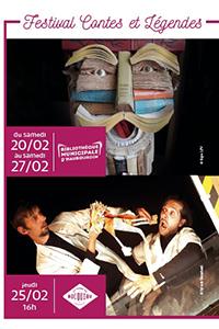 Bibliotron (théâtre) – Festival Contes et légendes