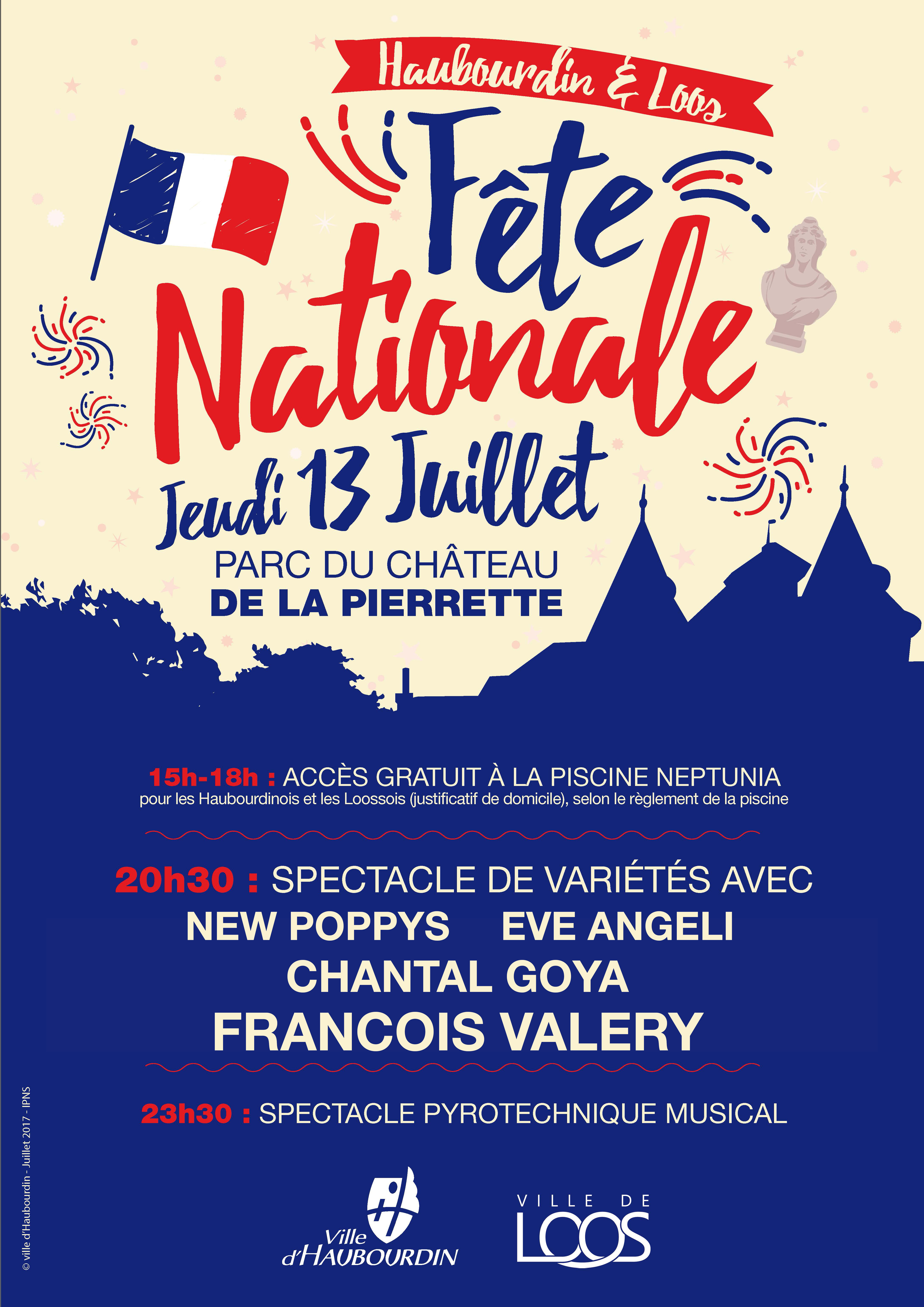 F te nationale for Piscine haubourdin
