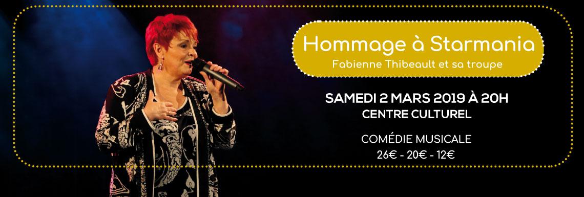 Fabienne Thibeault et sa troupe – Hommage à Starmania