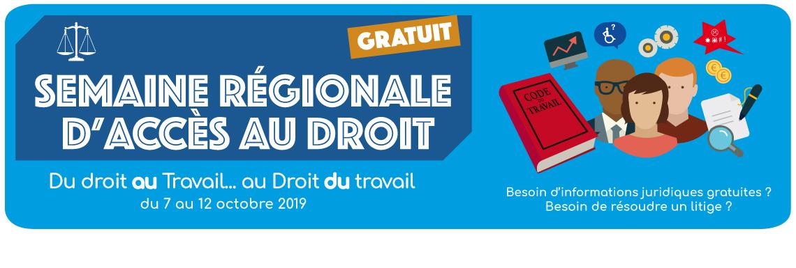 Semaine Régionale d'Accès au Droit 2019