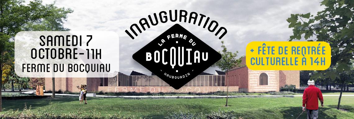 Inauguration de la Ferme du Bocquiau