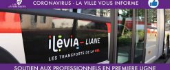 Ilévia : soutien aux professionnels en première ligne