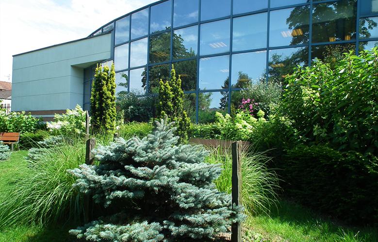 Jardin de la bibliothèque