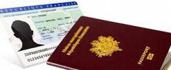 Procédure pour les demandes de carte d'identité et de passeport