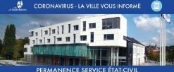 Permanences Etat-civil des 1er et 8 mai avancées au 30 avril et au 7 mai