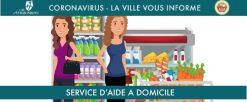 Service d'Aide A Domicile : aide aux courses