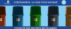Collecte des déchets ménagers par Esterra et réouverture déchetteries de la MEL