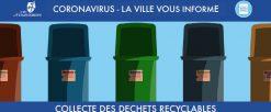 Modification de la collecte des ordures ménagères – avril/mai 2020